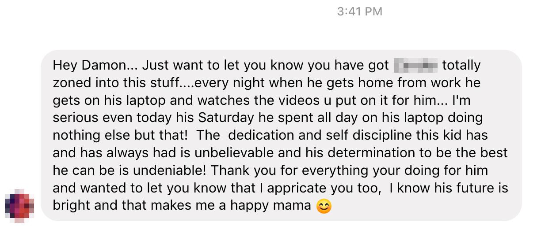 Making millionaire mom's proud