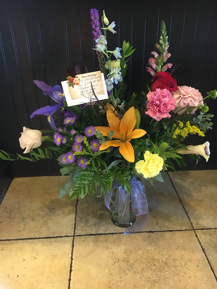 Sent my wife flowers, and my son thanked me.