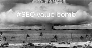 SEO value bombs