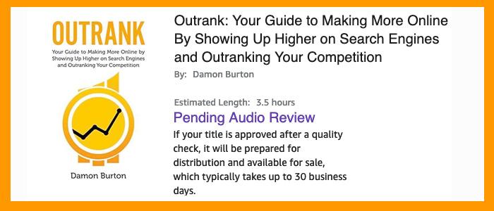 Damon Burton audio book