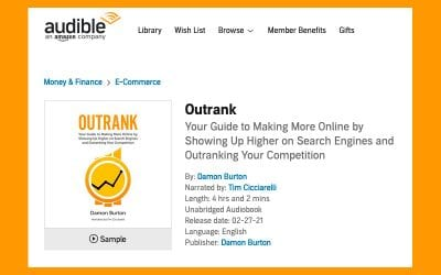 Outrank is now on Audible