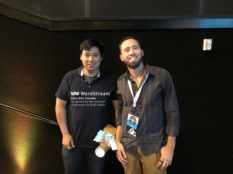Meeting Larry Kim from Wordstream