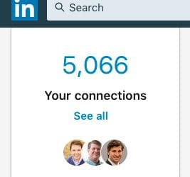 From 738 LinkedIn Connections to over 5,000