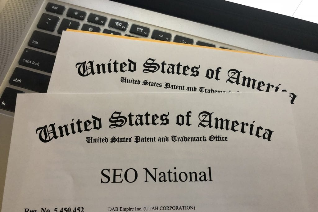 SEO National trademark