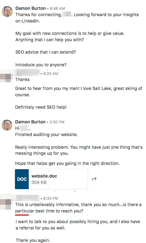 SEO networking