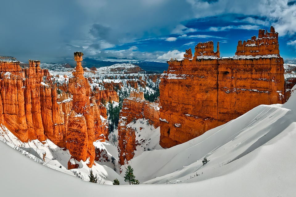 Utah Parks Dazzle in Winter